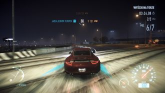 Need for Speed - wyścig na torze