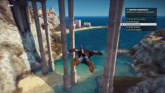 Just Cause 3 - wingsuit