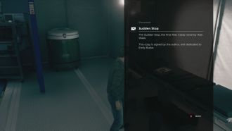 Quantum Break - easter egg Alan Wake