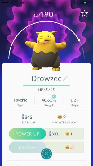 Pokemon Go - Drowzee