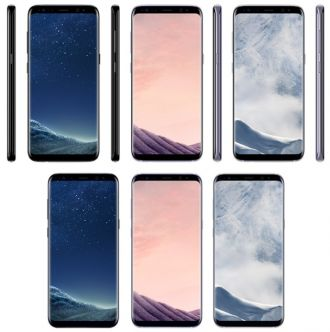 Galaxy S8 render kolory