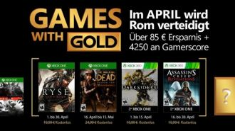 Games with Gold na kwiecień