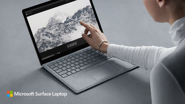 Microsoft Surface Laptop wygląd