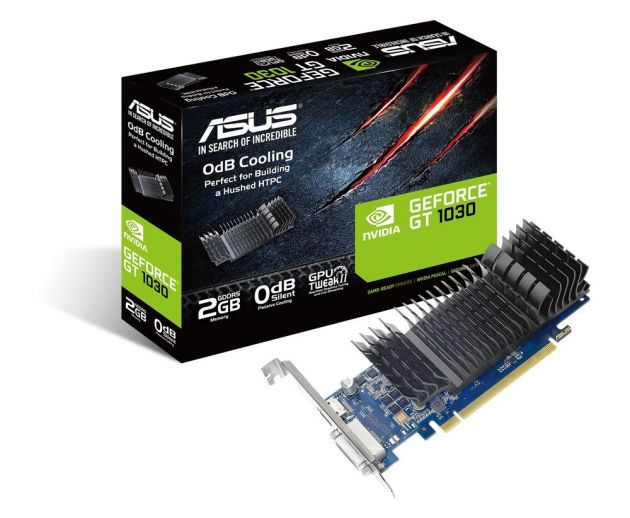 ASUS GeForce GT 1030 2GB Low Profile