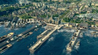 ANNO 1800 screen miasto