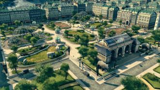ANNO 1800 screen zoo