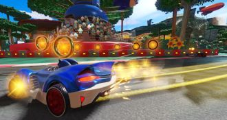 Team Sonic Racing screen 1