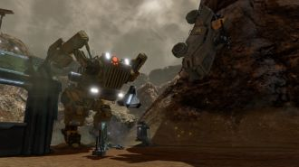 Red Faction: Guerrilla Re-Mars-tered screen mech
