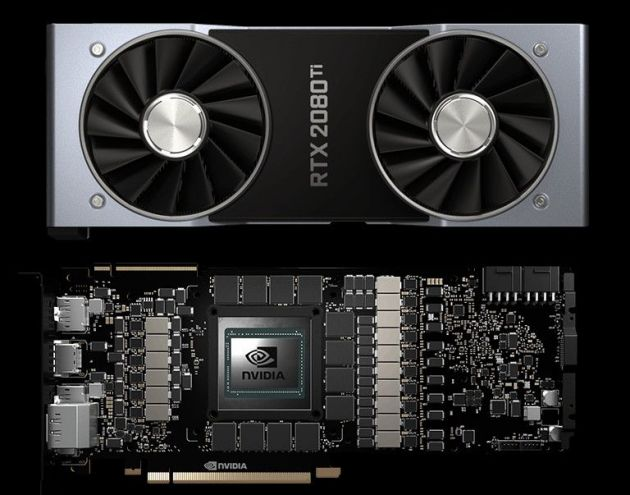 Nvidia GeForce RTX 2080 Ti PCB