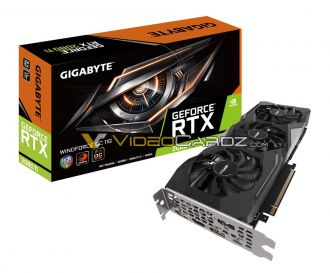 Gigabyte GeForce RTX 2080 Ti WindForce OC 8G