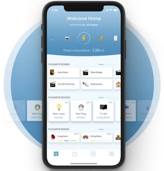 Fibaro Home Center app