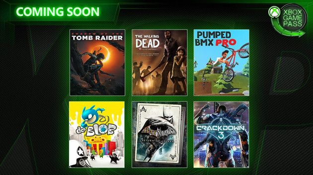 Xbox Game Pass - luty 2019