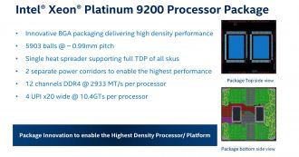 Intel Xeon Platinum 9200
