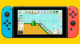 Super Mario Maker 2 screen