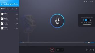 Ashampoo Audio Recorder Free screen
