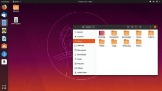 Ubuntu 19.10 screen