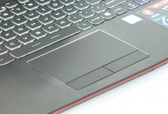 MSI GE62 7RE Apache Pro touchpad