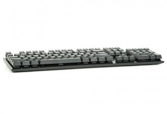 HyperX Alloy FPS Cherry MX Red - rzut od przodu