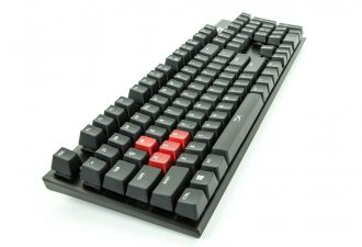 HyperX Alloy FPS Cherry MX Red - rzut z boku