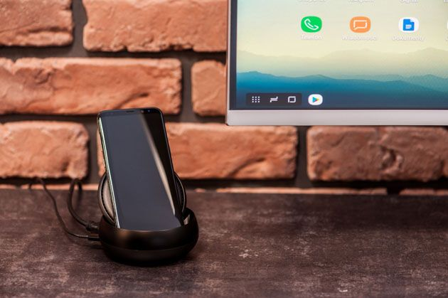 Samsung DeX do smartfona Galaxy S8