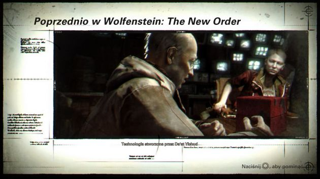 Wolfenstein II: The New Colossus - poprzednio w Wolfenstein