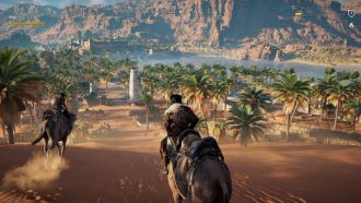 Assassin's Creed: Origins - przyjazd do Siwy