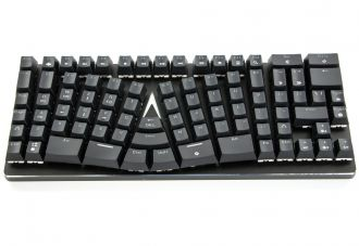 X-Bows Mechanical Ergonomic Keyboard - widok z góry