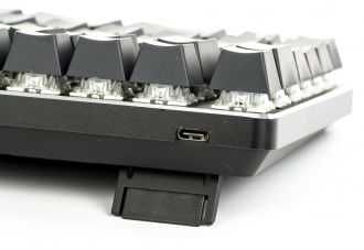 X-Bows Mechanical Ergonomic Keyboard - złącze USB-C