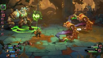 Battle Chasers: Nightwar - walka