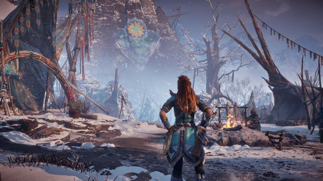 Horizon Zero Dawn: The Frozen Wilds - banucka osada