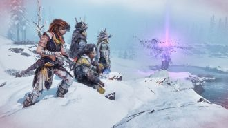 Horizon Zero Dawn: The Frozen Wilds - generator aury