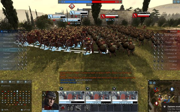 Total War: Arena - Rzymianie