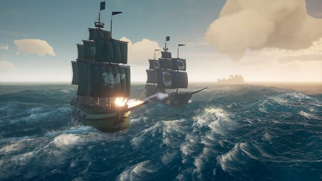 Sea of Thieves - bitwa morska