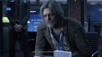 Detroit: Become Human - detektyw Hank Anderson