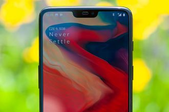 OnePlus 6 - notch