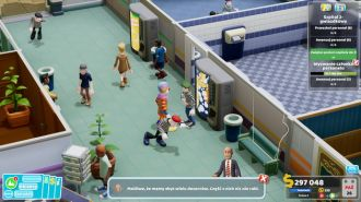Two Point Hospital - sucharoza