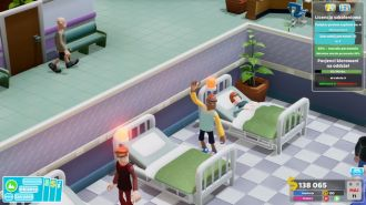 Two Point Hospital - monobrew