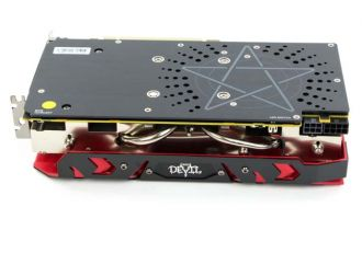 PowerColor Radeon RX 590 Red Devil - backplate