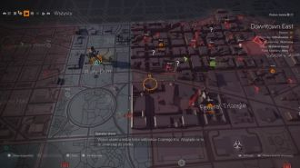 Tom Clancy's The Division 2 - mapa po ataku Czarnego Kła