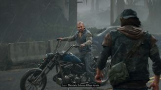 Days Gone - Boozer na motocyklu