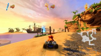 Crash Team Racing Nitro-Fueled - zwiedzania świata gry