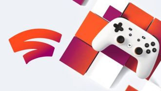 Google Stadia - gamepad