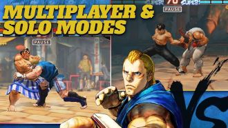Street Fighter IV Champion Edition na Androida