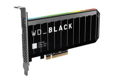 WD Black AN1500 NVMe SSD (z radiatorem)