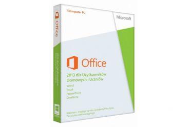 Microsoft Office 2013 dla Użytkowników Domowych i Uczniów