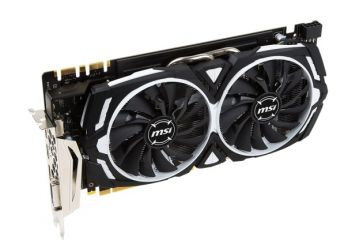 MSI GeForce GTX 1070 ARMOR 8GB