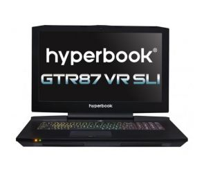 Hyperbook GTR87 VR SLI