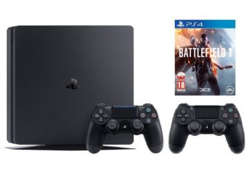 Sony PlayStation 4 Slim + Dualshock Controller