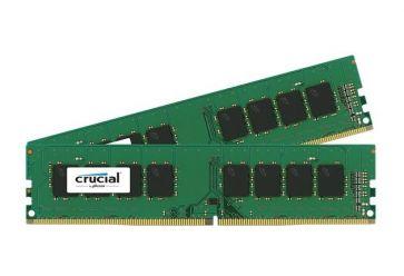 Crucial 2x 8 GB DDR4 2400 MHz CL17