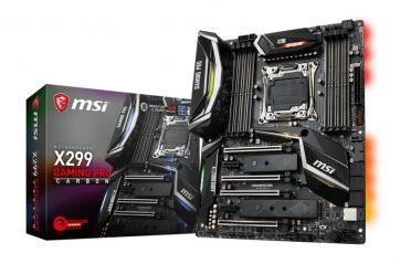 MSI X299 Gaming Pro Carbon